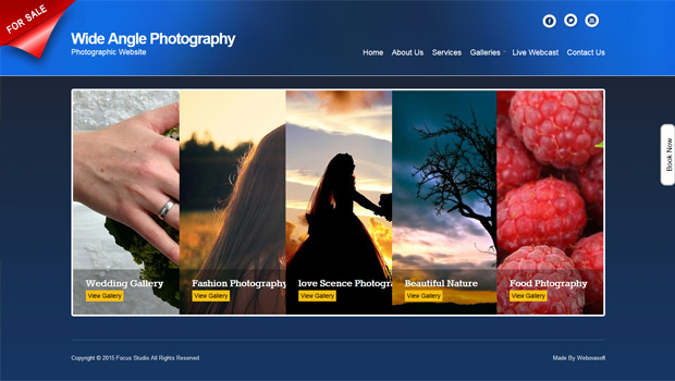 Photography Portfolio Website Webova Soft