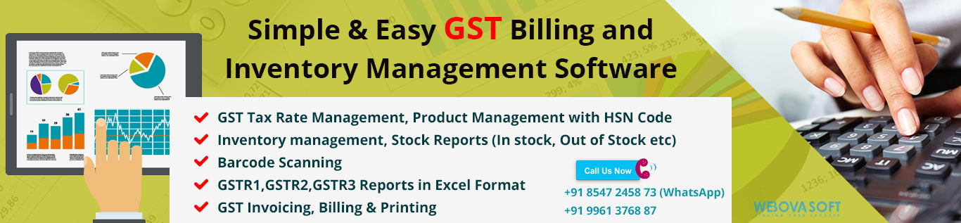 GST Billing And Inventory Software For Your Business Invoice - Barcode scanner invoice software