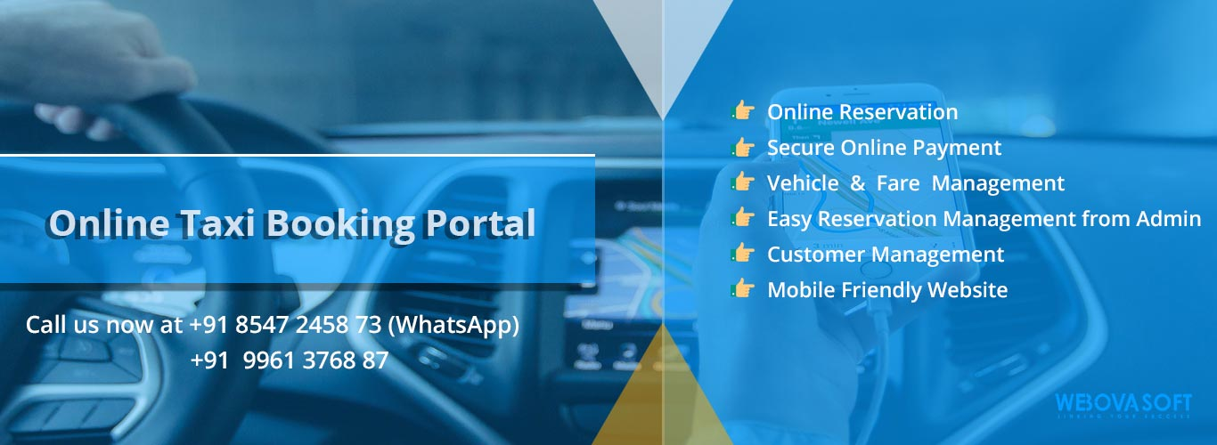 Online Taxi Booking Software | Online Taxi Booking Portal | CAB